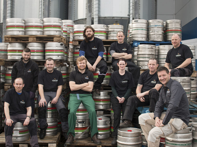 Brewing team photo